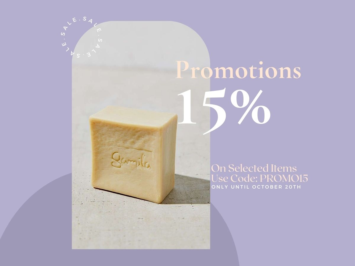 15% OFF on Selected Items - Only until Oct. 20th!